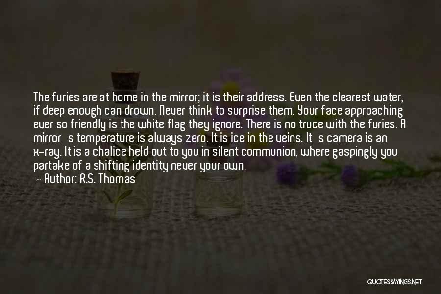 White Flag Quotes By R.S. Thomas