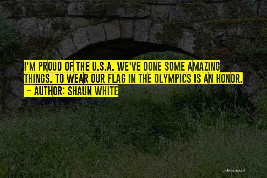 White Flag Quotes By Shaun White