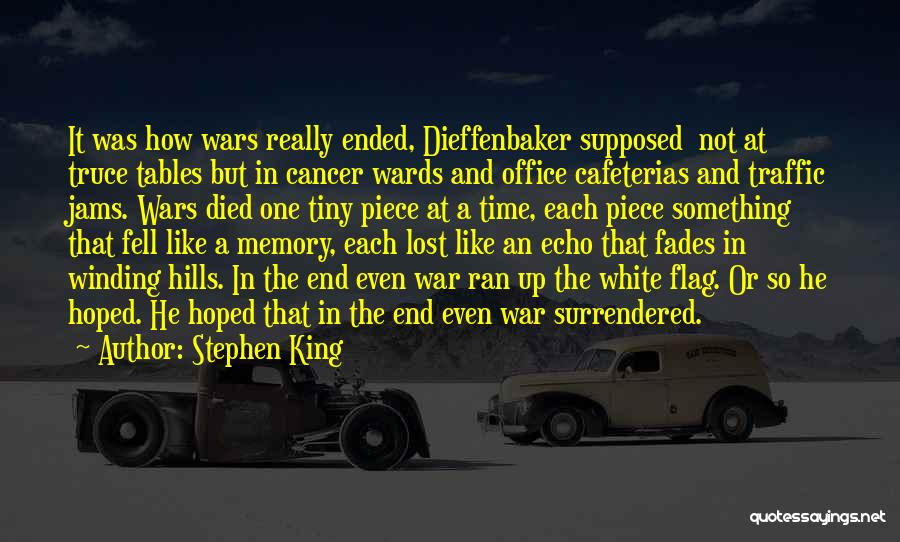 White Flag Quotes By Stephen King