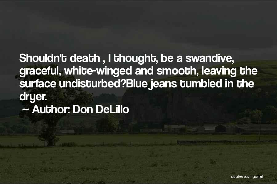 White Jeans Quotes By Don DeLillo