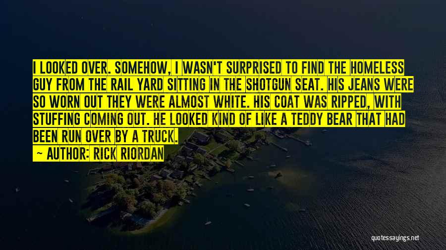 White Jeans Quotes By Rick Riordan