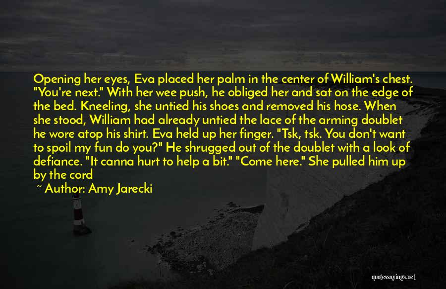 White Linen Quotes By Amy Jarecki