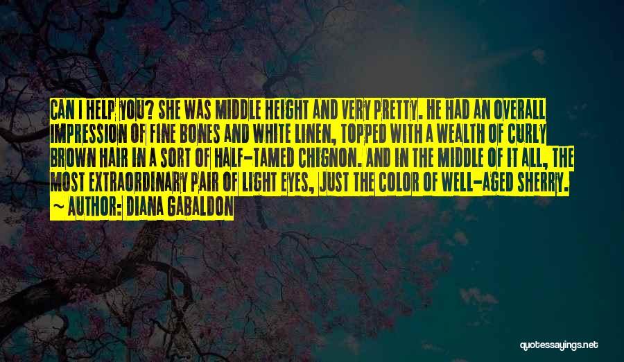 White Linen Quotes By Diana Gabaldon