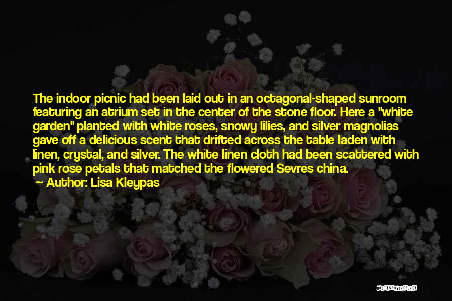 White Linen Quotes By Lisa Kleypas