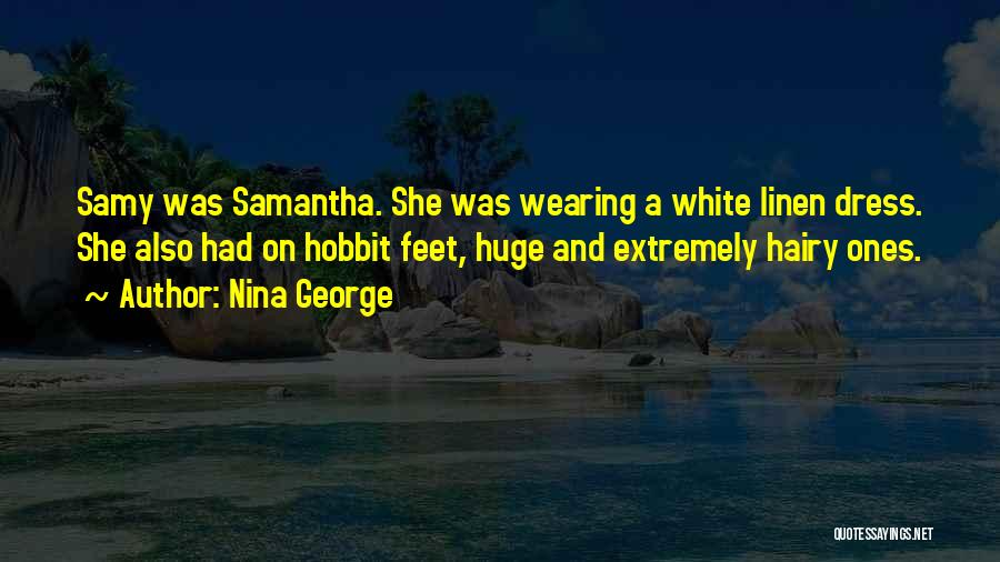 White Linen Quotes By Nina George
