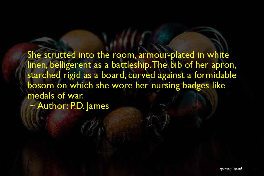 White Linen Quotes By P.D. James