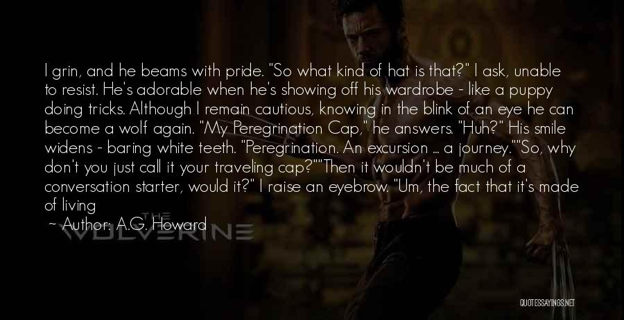 White Wolf Quotes By A.G. Howard