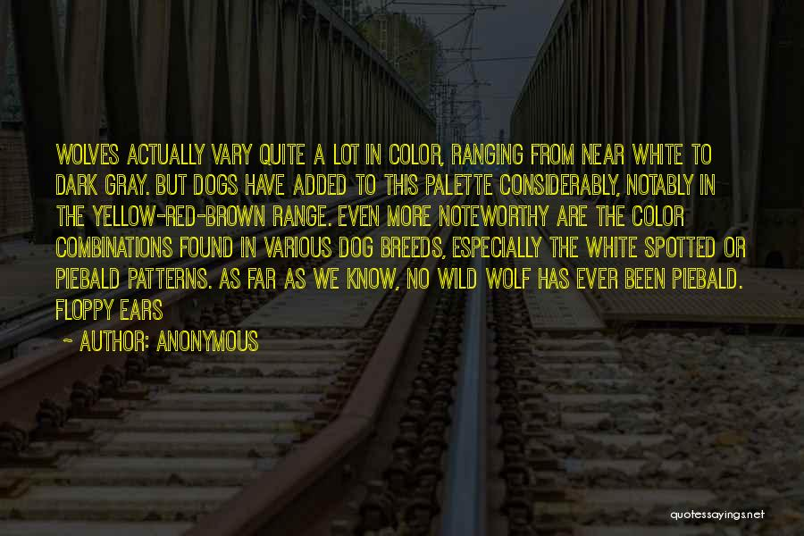 White Wolf Quotes By Anonymous