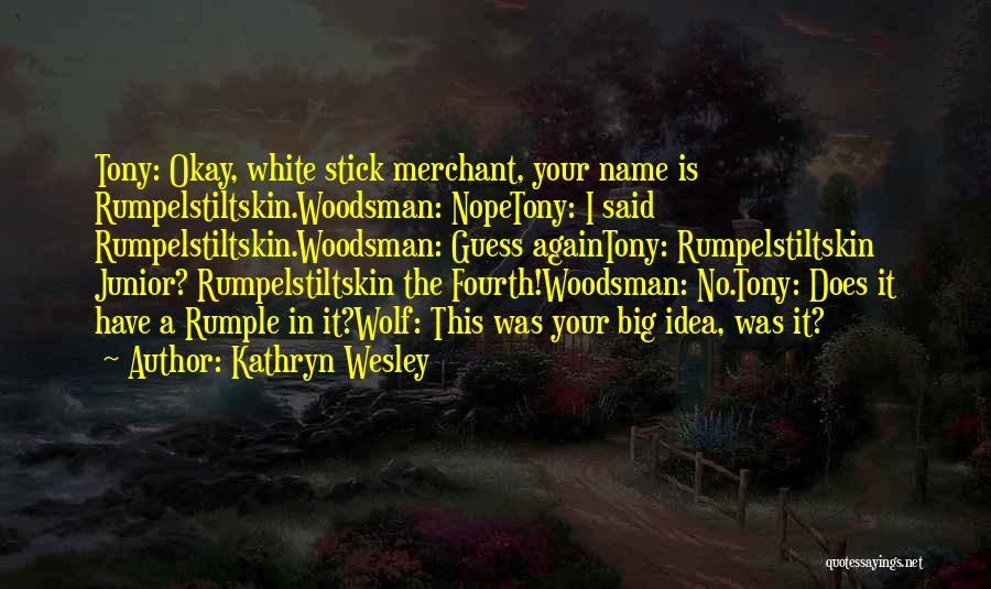White Wolf Quotes By Kathryn Wesley