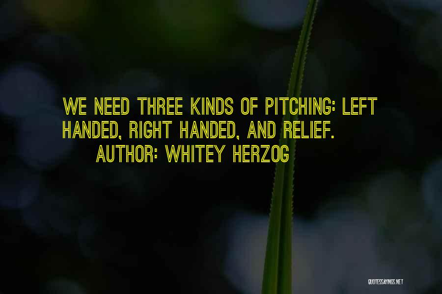 Whitey Herzog Quotes 1292569