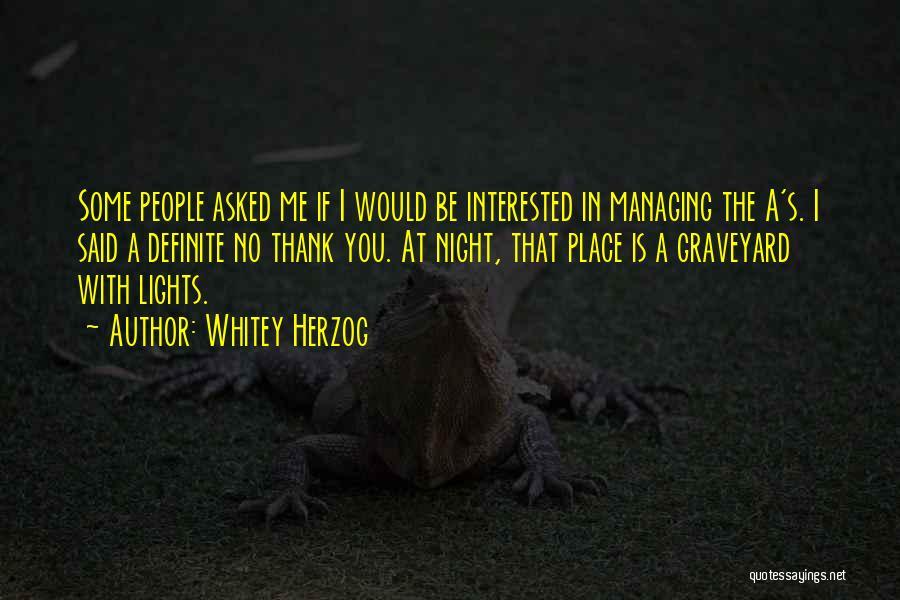 Whitey Herzog Quotes 232425