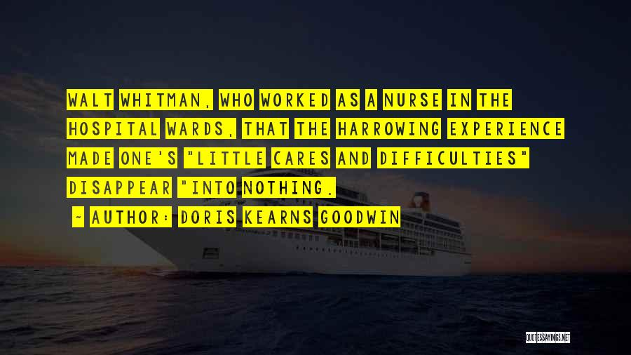 Whitman Walt Quotes By Doris Kearns Goodwin