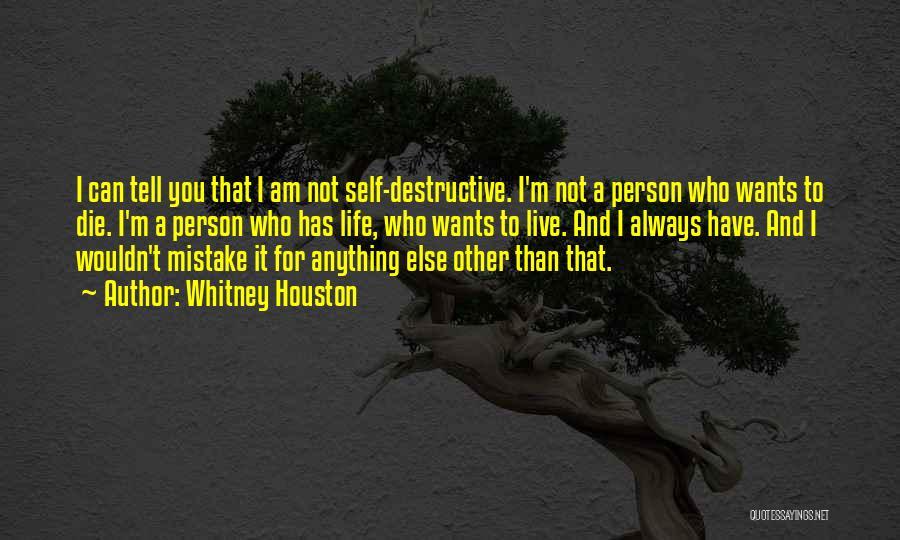 Whitney Houston Quotes 1665606