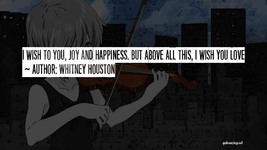 Whitney Houston Quotes 2240625