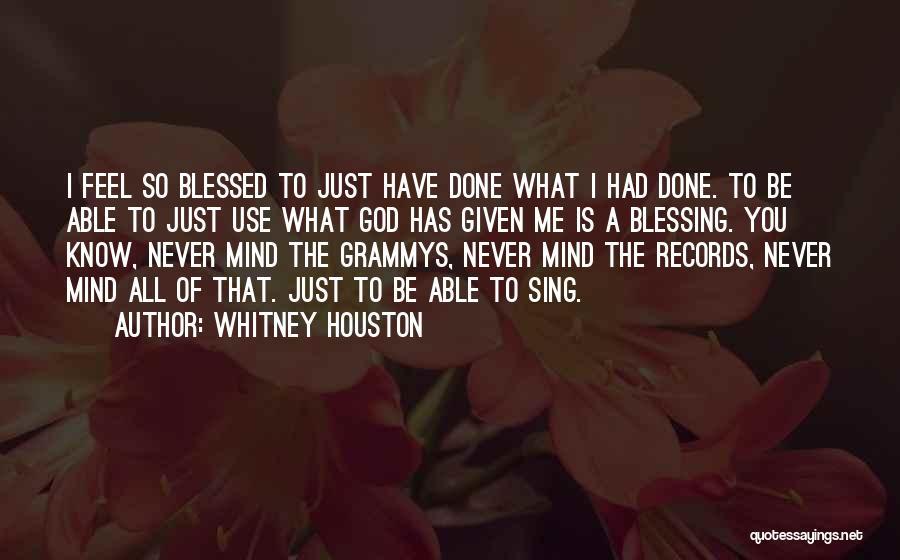 Whitney Houston Quotes 80011