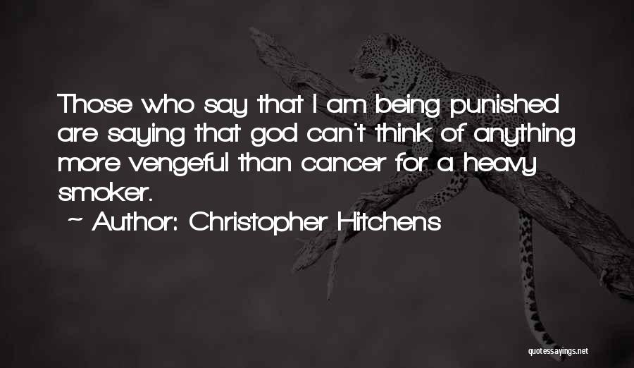 Who Am I Quotes By Christopher Hitchens