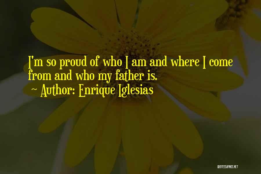 Who Am I Quotes By Enrique Iglesias