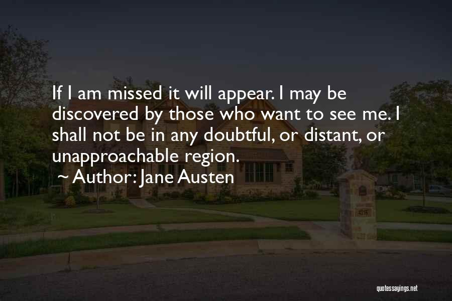Who Am I Quotes By Jane Austen