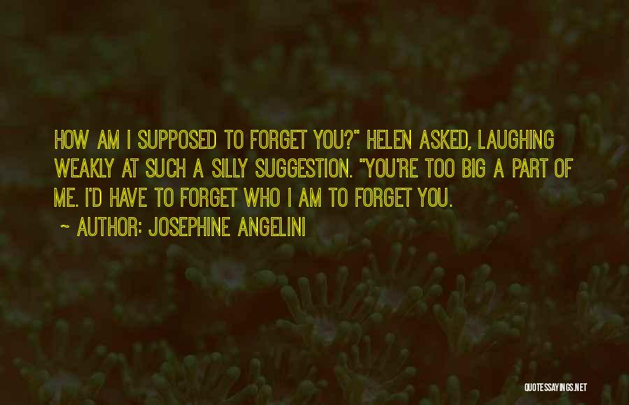 Who Am I Quotes By Josephine Angelini