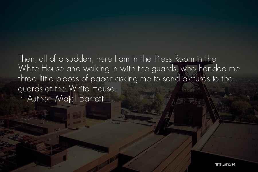 Who Am I Quotes By Majel Barrett