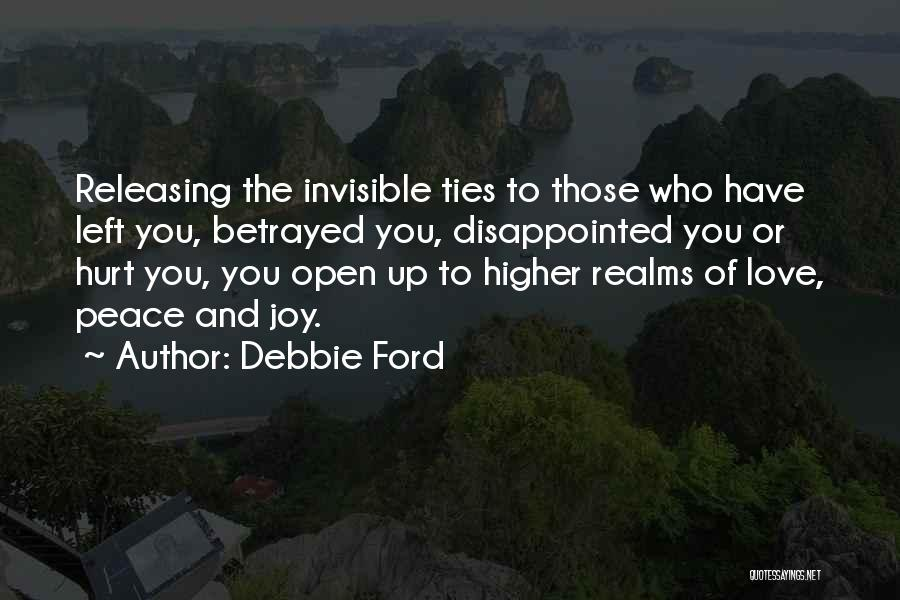 Who Betrayed Who Quotes By Debbie Ford