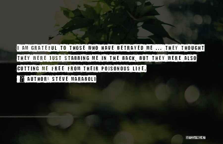 Who Betrayed Who Quotes By Steve Maraboli