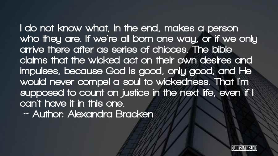 Who God Is Quotes By Alexandra Bracken
