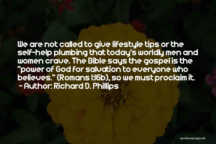 Who God Is Quotes By Richard D. Phillips