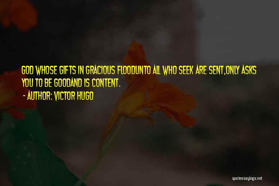 Who God Is Quotes By Victor Hugo