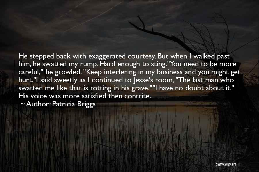Who Hurt You Quotes By Patricia Briggs