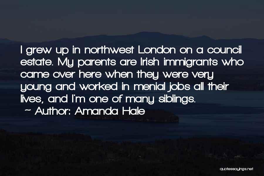 Who Irish Quotes By Amanda Hale