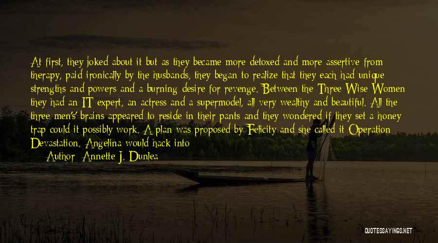 Who Irish Quotes By Annette J. Dunlea