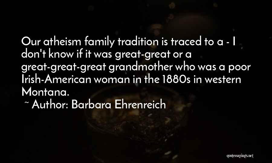 Who Irish Quotes By Barbara Ehrenreich