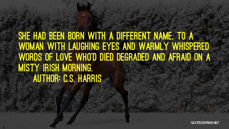 Who Irish Quotes By C.S. Harris