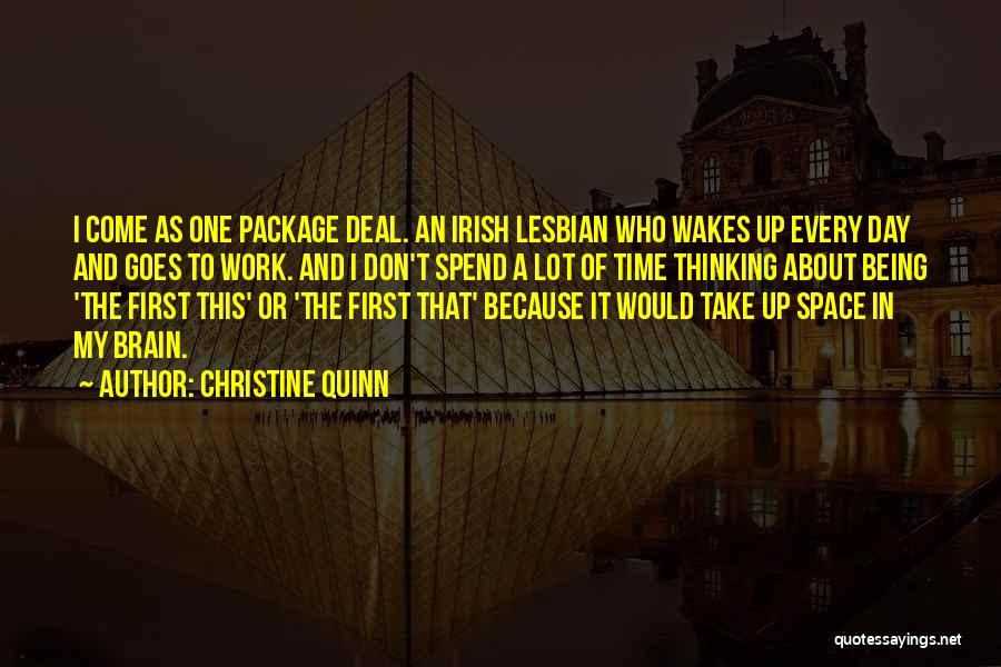 Who Irish Quotes By Christine Quinn