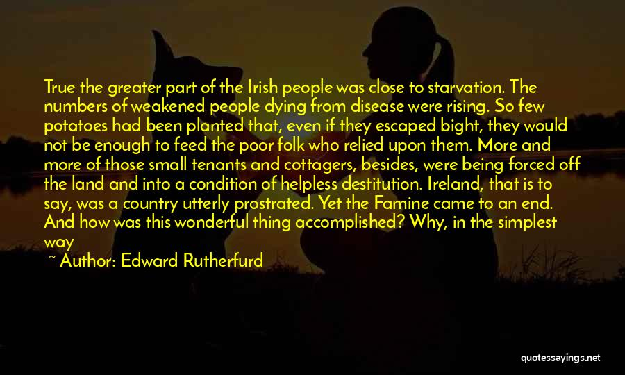 Who Irish Quotes By Edward Rutherfurd