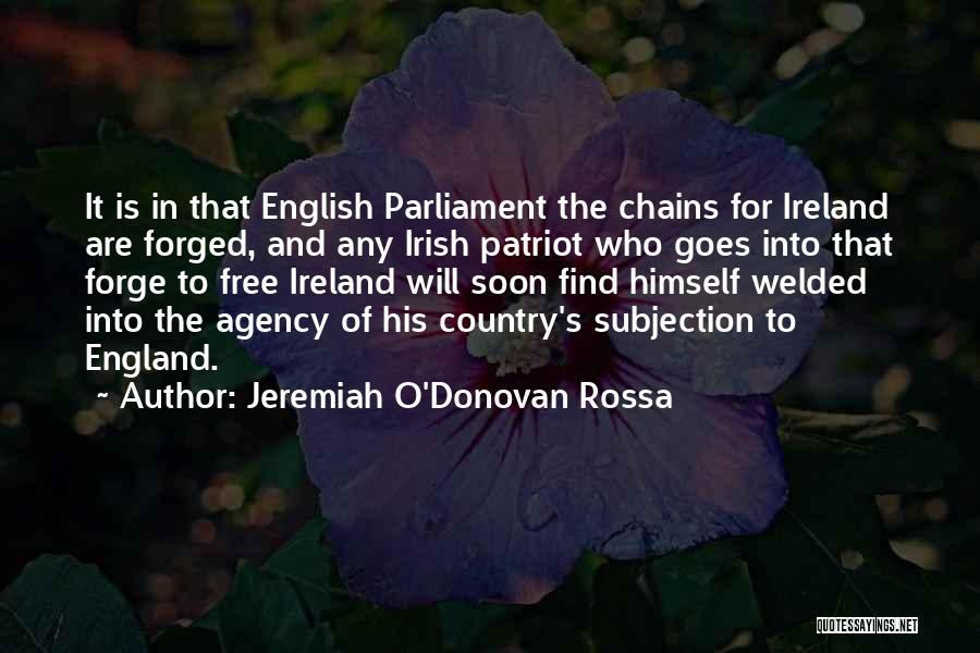 Who Irish Quotes By Jeremiah O'Donovan Rossa