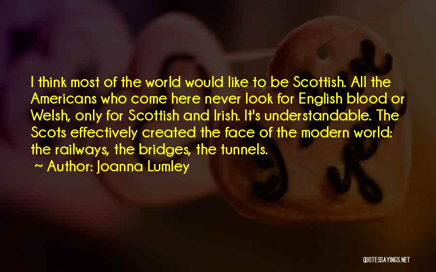 Who Irish Quotes By Joanna Lumley