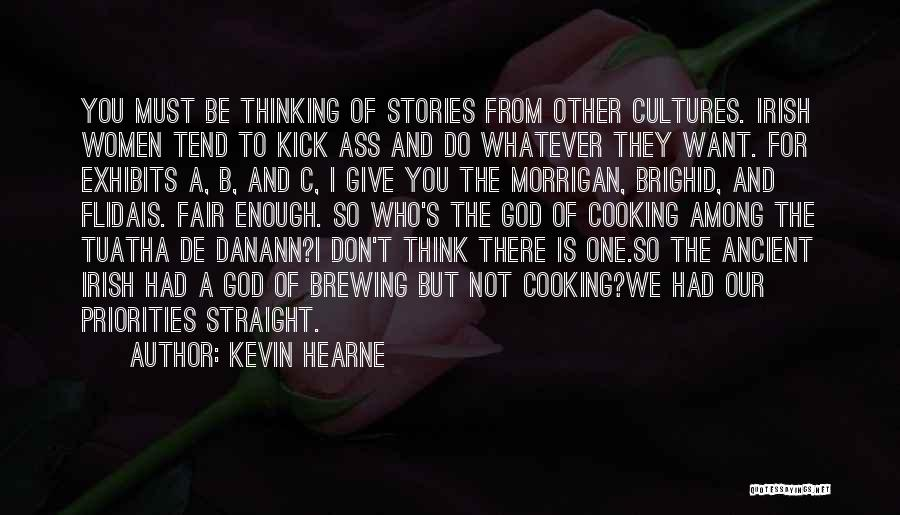 Who Irish Quotes By Kevin Hearne