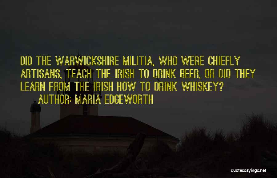 Who Irish Quotes By Maria Edgeworth