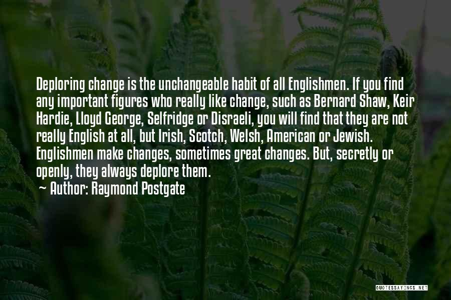 Who Irish Quotes By Raymond Postgate