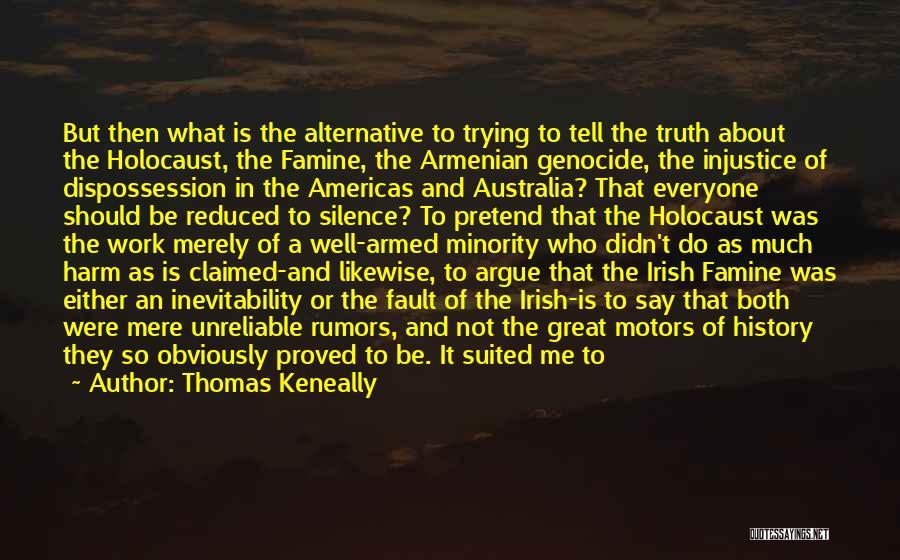 Who Irish Quotes By Thomas Keneally