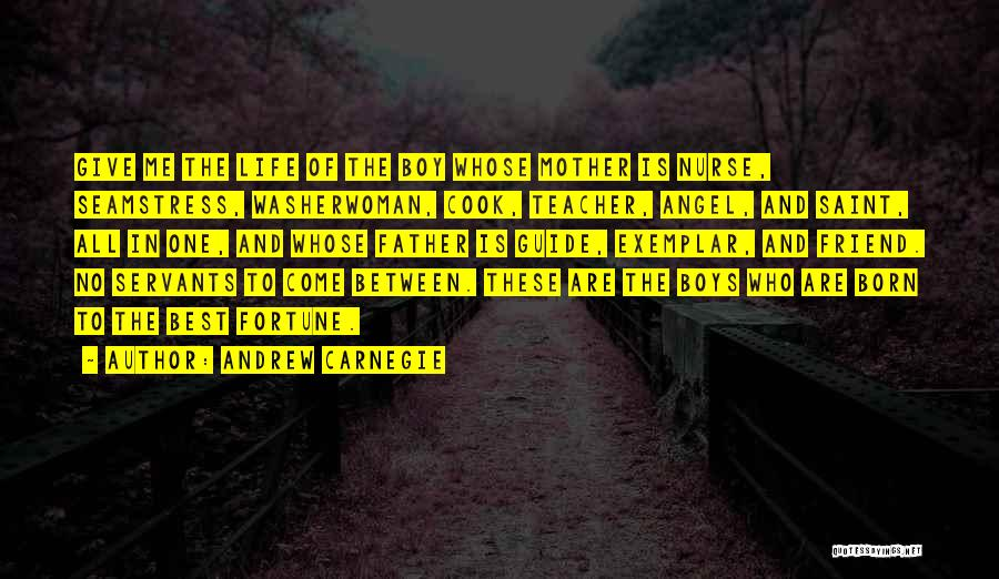 Who Is Best Friend Quotes By Andrew Carnegie