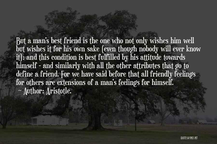 Who Is Best Friend Quotes By Aristotle.