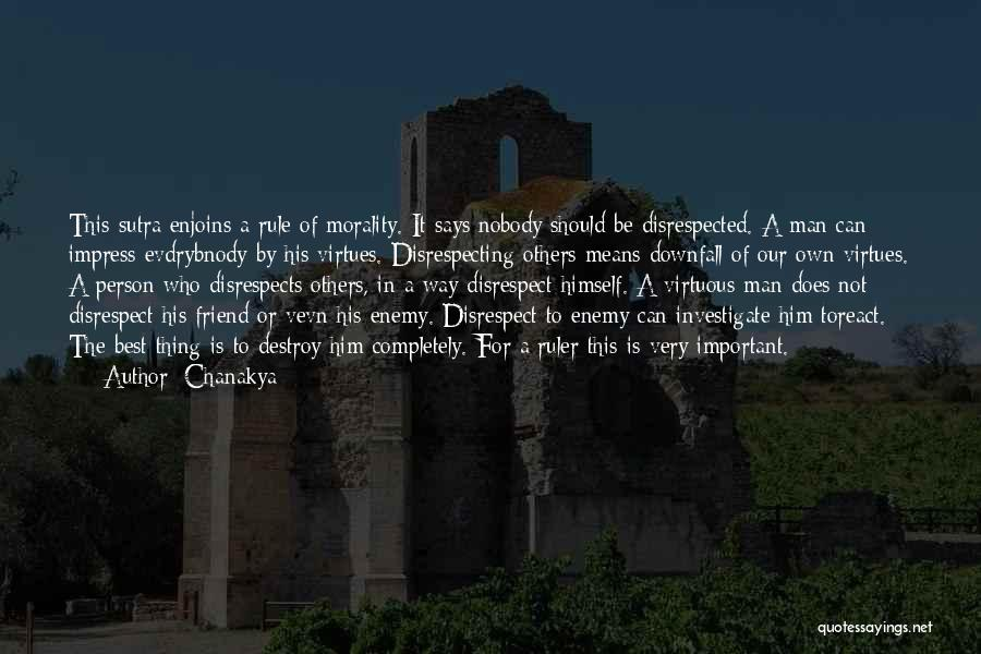 Who Is Best Friend Quotes By Chanakya