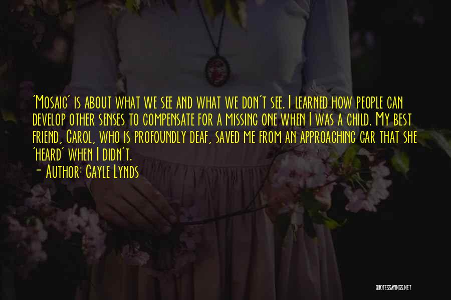 Who Is Best Friend Quotes By Gayle Lynds