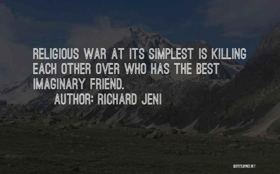 Who Is Best Friend Quotes By Richard Jeni