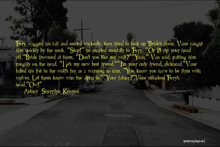 Who Is Best Friend Quotes By Sherrilyn Kenyon