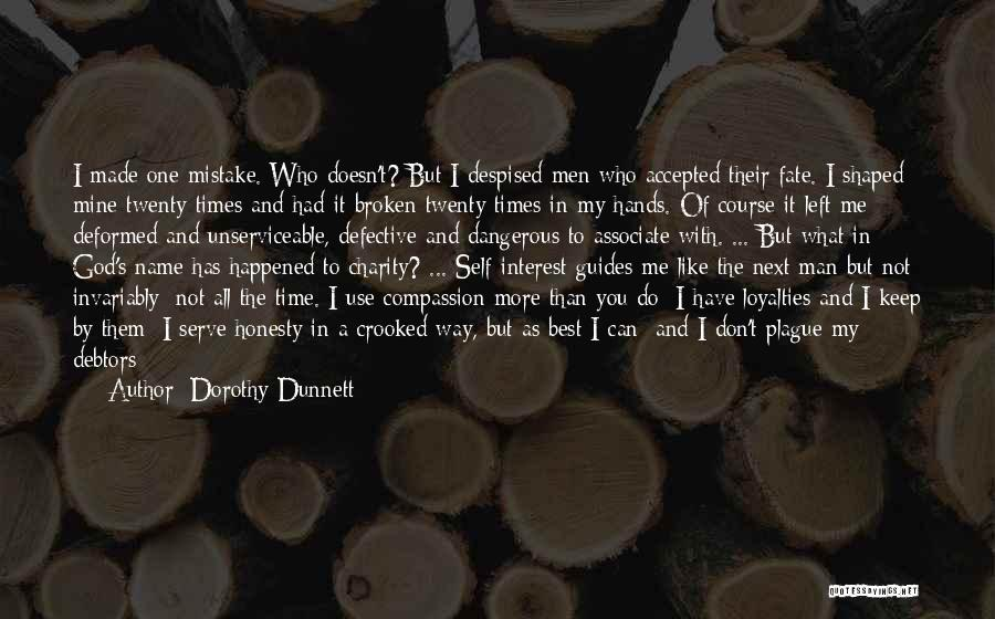 Who Left Me Quotes By Dorothy Dunnett