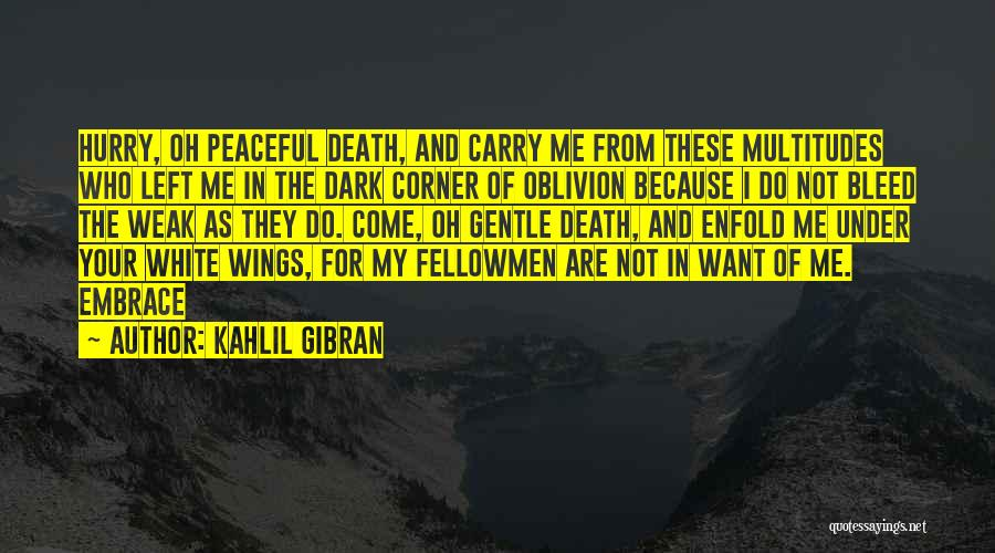 Who Left Me Quotes By Kahlil Gibran